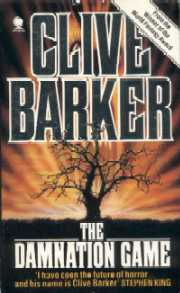 The Damnation Game by Clive Barker